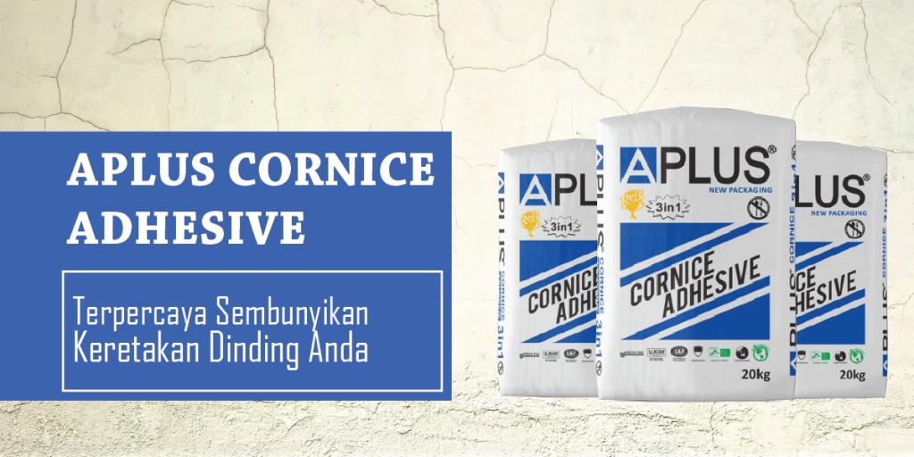 Aplus-Cornice-Adhesive kompon aplus murah