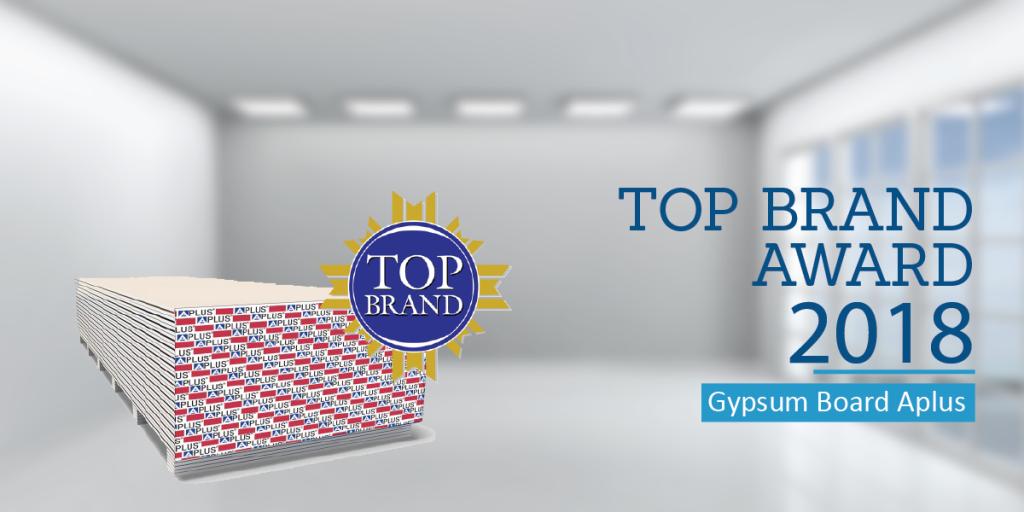 GYPSUM TOP BRAND AWARD
