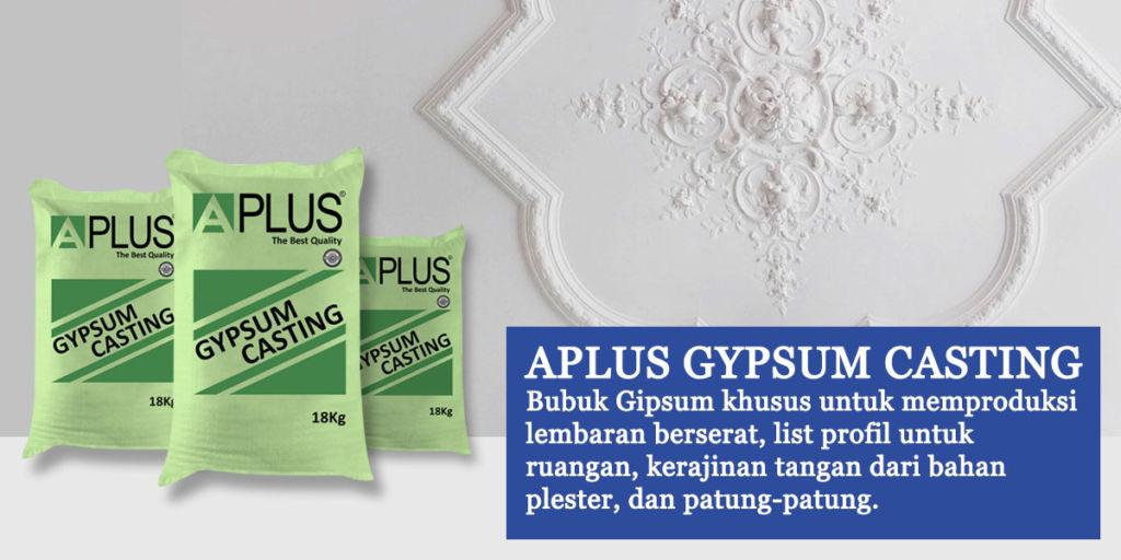 gypsum aplus casting murah