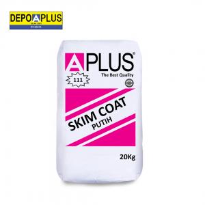 semen skimcoat putih Aplus Instant Cement_Skim Coat Putih (111) termurah