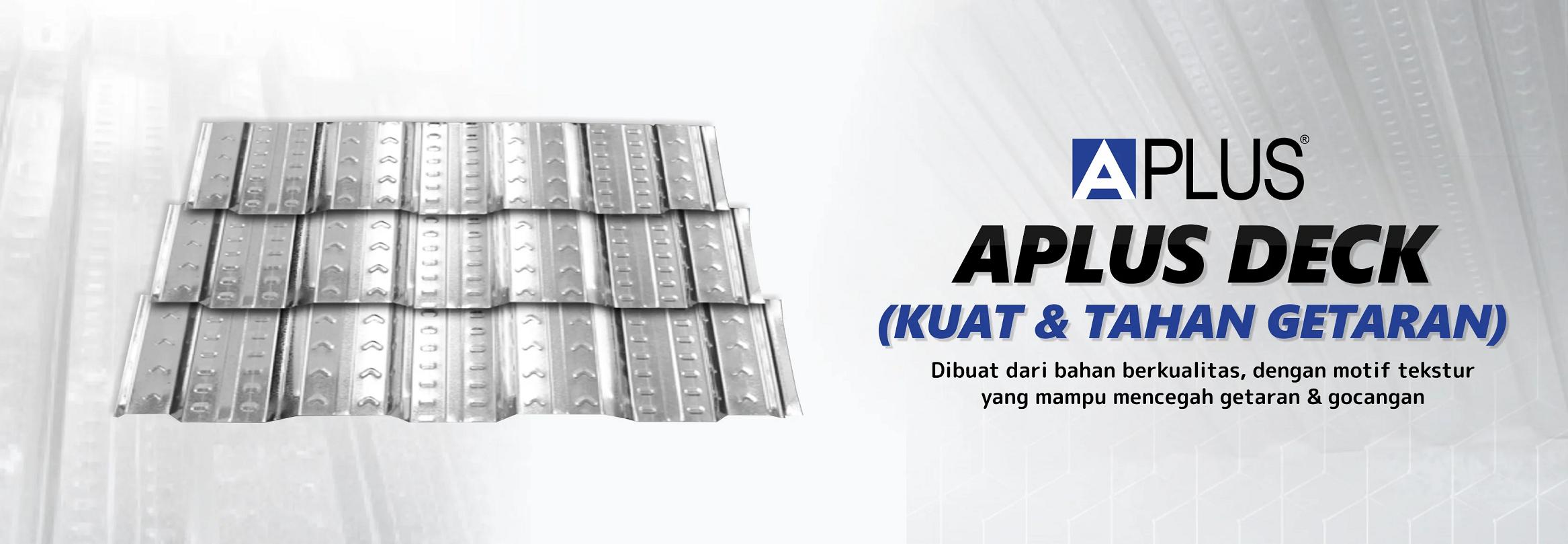 bondek bondek Aplus-deck banner