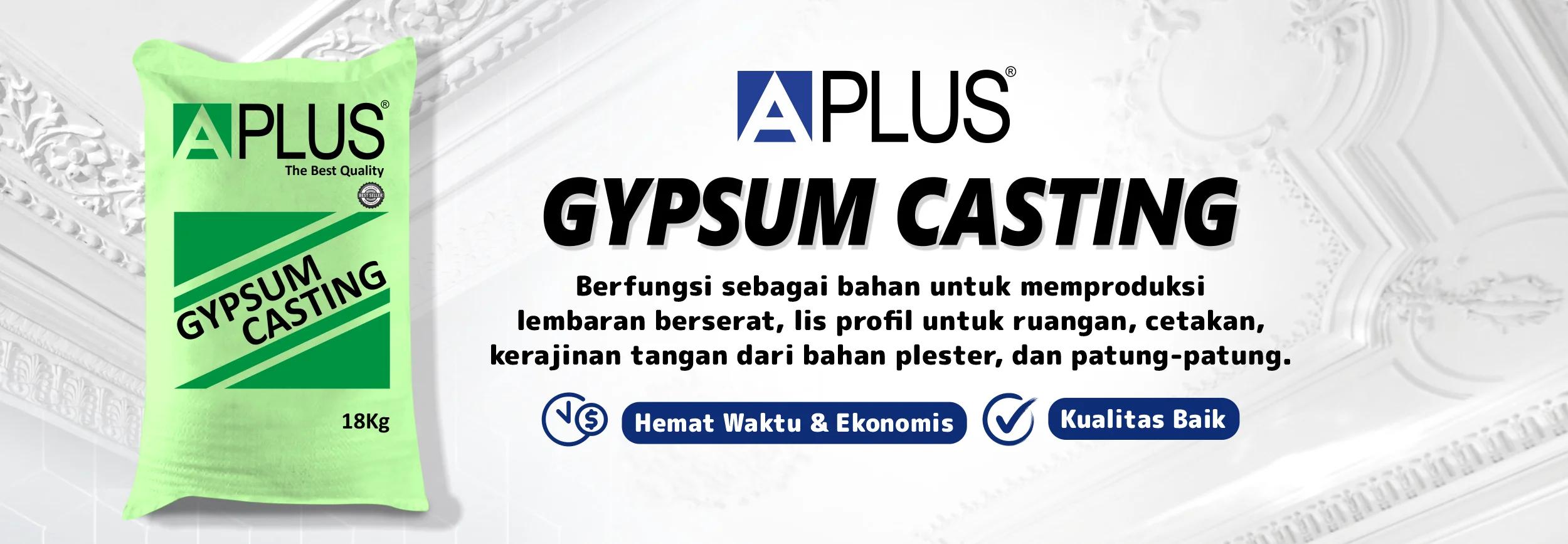 gypsum casting aplus 18 kg
